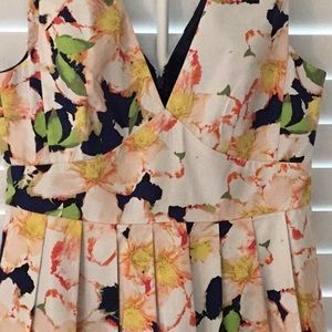 J CREW floral sundress. EUC SIZE 2 GORGEOUS detail